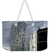 Chicago Facade Reflections Weekender Tote Bag