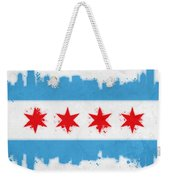 Chicago Flag Weekender Tote Bag by Mike Maher
