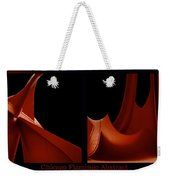 Chicago Flamingo Abstract 2 Panel 02 Weekender Tote Bag
