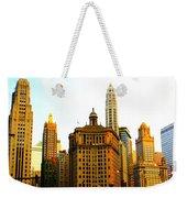 Chicago Glow Weekender Tote Bag