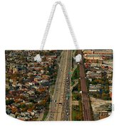 Chicago Highways 01 Weekender Tote Bag