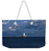 Chicago Illinois Harbor Lighthouse Early Evening Usa Weekender Tote Bag