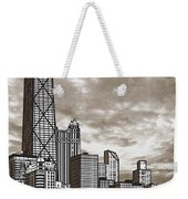 Chicago Illinois No Text Weekender Tote Bag