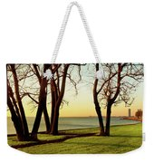 Chicago Lakefront Trail And Lincoln Weekender Tote Bag