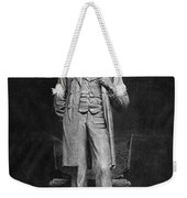 Chicago Lincoln Statue Weekender Tote Bag