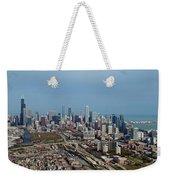 Chicago Looking North 01 Weekender Tote Bag