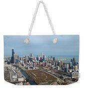 Chicago Looking North 02 Weekender Tote Bag