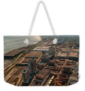 Chicago Looking South 02 Weekender Tote Bag
