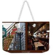 Chicago Macys Department Store 2 Panel Weekender Tote Bag