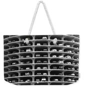 Chicago Marina City Parking Bw Weekender Tote Bag
