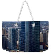 Chicago Modern Skyscraper Weekender Tote Bag