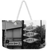 Chicago Motel Weekender Tote Bag