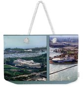 Chicago Museum Park 2 Panel Weekender Tote Bag