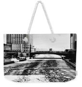 Chicago On Ice By Diana Sainz Weekender Tote Bag