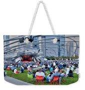 Chicago Outdoor Concert Weekender Tote Bag