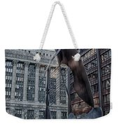 Chicago Picasso Weekender Tote Bag by Mike Burgquist