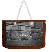 Chicago Pritzker Music Pavillion Sc Triptych 3 Panel Weekender Tote Bag