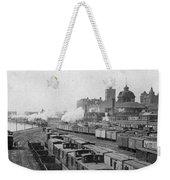 Chicago Railroads, C1893 Weekender Tote Bag