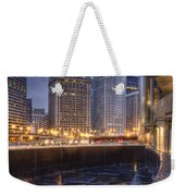 Chicago Reflected Weekender Tote Bag
