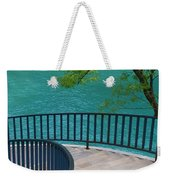 Chicago River Green Weekender Tote Bag