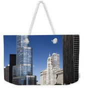 Chicago River Scenic Weekender Tote Bag