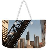 Chicago River Traffic Weekender Tote Bag