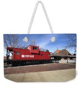 Chicago Rock Island Caboose Weekender Tote Bag