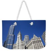 Chicago Skyline Weekender Tote Bag