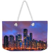 Chicago Skyline From Navy Pier View 2 Weekender Tote Bag