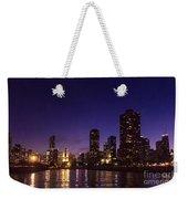 Chicago Skyline Vi Weekender Tote Bag