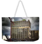Chicago Sun Times Facade After The Storm Weekender Tote Bag