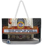 Chicago Theater Signage Weekender Tote Bag