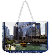 Chicago Transportation Triptych 3 Panel Hdr 01 Weekender Tote Bag