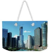 Chicago Trump Tower Under Construction Weekender Tote Bag