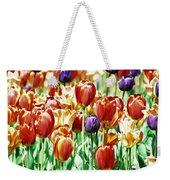 Chicago Tulips Weekender Tote Bag