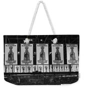 Chicago United Center Banners Bw Weekender Tote Bag