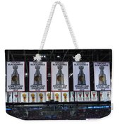 Chicago United Center Banners Weekender Tote Bag