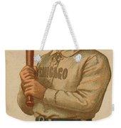 Chicago White Stockings 1887 Weekender Tote Bag