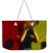Chicago19-lee-2-fractal Weekender Tote Bag