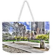 Chicago's Jane Addams Memorial Park From The Series The Imprint Of Man In Nature Weekender Tote Bag