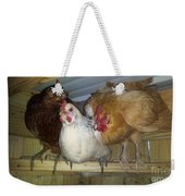 Chick Trio  Weekender Tote Bag