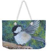 Chickadee Landing Weekender Tote Bag