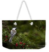 Chickadee Pictures 373 Weekender Tote Bag