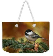 Chickadee Pictures 375 Weekender Tote Bag