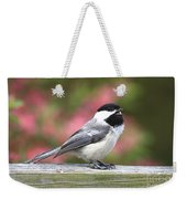 Chickadee Song Weekender Tote Bag