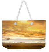 Chicken Farm Sunset 2 Weekender Tote Bag by James BO  Insogna