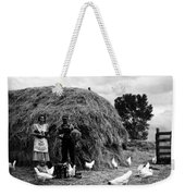 Chicken Farmers, 1939 Weekender Tote Bag