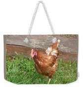 Chicken Portrait Weekender Tote Bag