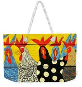 Chicken Posse Weekender Tote Bag