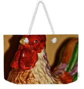 Chicken Shadow Weekender Tote Bag